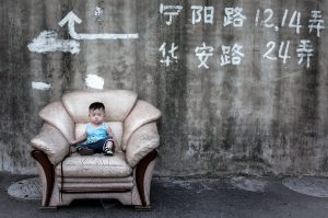 Boy on Chair, Shanghai