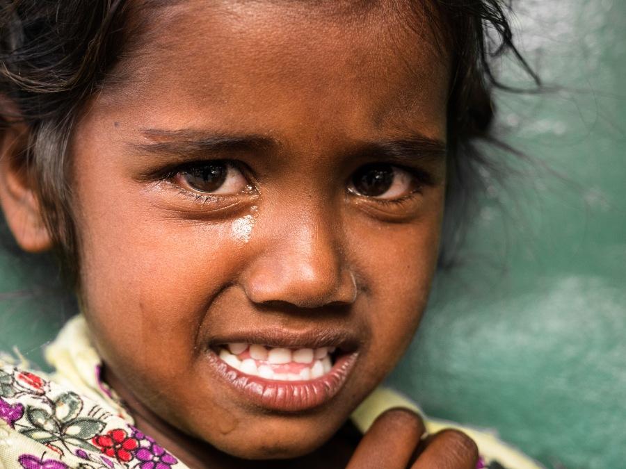 Crying Girl, Bangalore