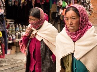 Ladies @ Kaza (Spiti Valley)